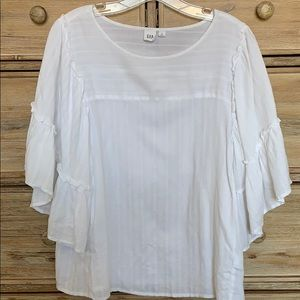 Gap White Blouse